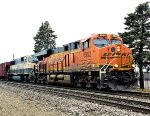 BNSF 6952 is east bound with a Executive MAC 2nd out